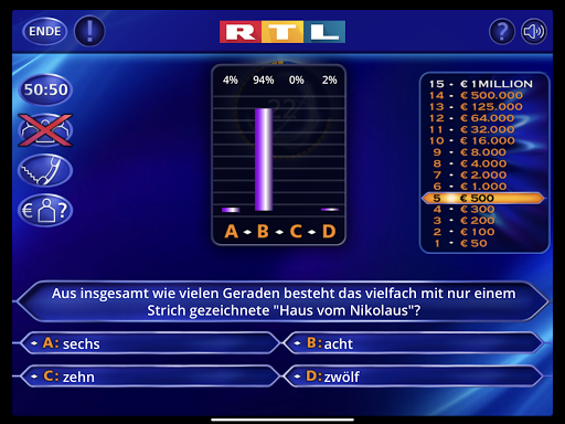 Wer wird Millionu00e4r? Trainingslager 2.0.76 screenshots 10