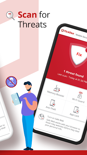 Mobile Security: VPN Proxy & Anti Theft Safe WiFi 5.7.0.534 Screenshots 2