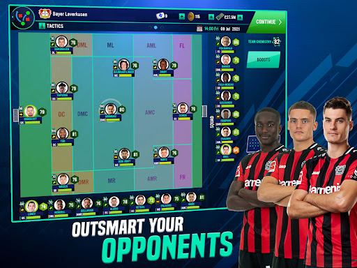 Soccer Manager 2022- FIFPRO Licensed Football Game screenshots 10