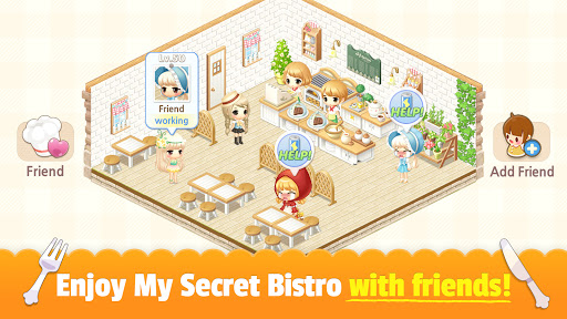 My Secret Bistro - Play cooking game with friends 1.8.6 screenshots 21