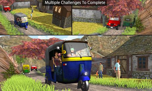 Tuk Tuk Auto Rickshaw Offroad Driving Games 2020 android2mod screenshots 4