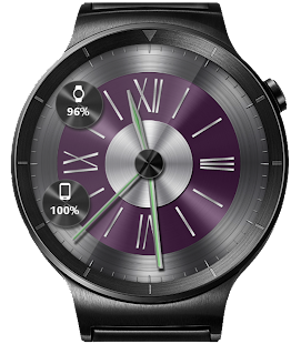 Brushed Metal HD Watch Face & Clock Widget