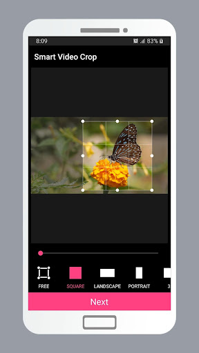 Smart Video Crop - Crop any part of any video 2.0 Screenshots 17