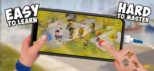 Kids vs Zombies: Brawl for Donuts screenshots 7