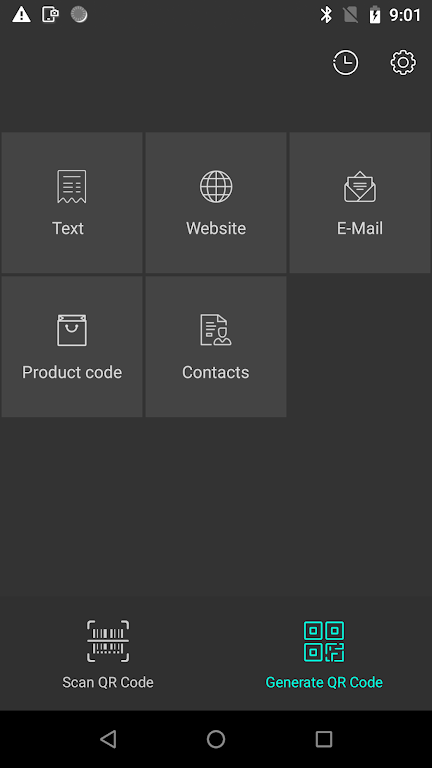 QR Code Reader & Generator / Barcode Scanner poster 1