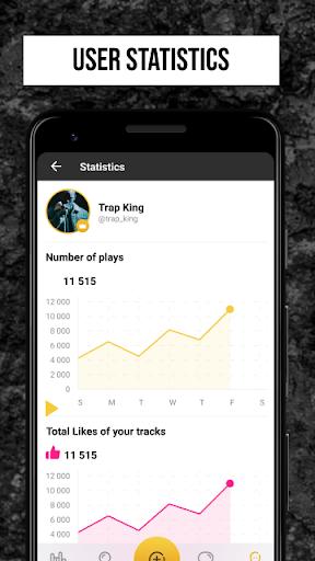 Rap Fame - Rap Music Studio with beats & vocal FX screenshots 4