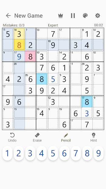 Imágen 8 de Killer Sudoku - Free Sudoku Puzzles+ para android