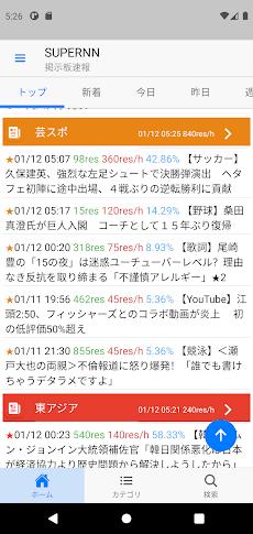 5ch ニュース速報 ニュース速報+:2ch勢いランキング