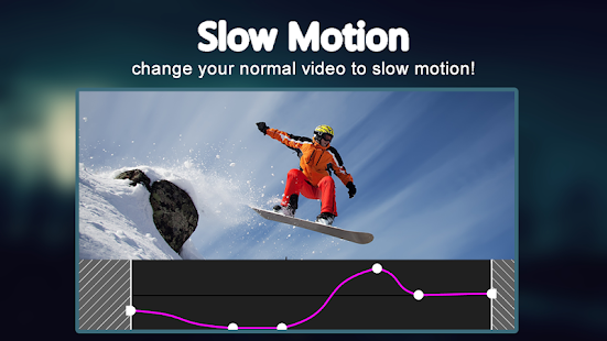 Slow motion video FX: fast & slow mo editor Screenshot
