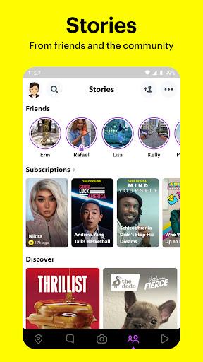 Snapchat apktram screenshots 4
