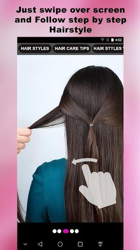 cute girls hairstyles 2020 screenshot 1