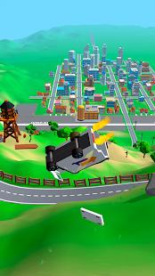 Crash Delivery! Destruction & smashing flying car! apk