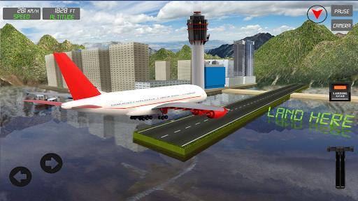 Extreme Airplane simulator 2019 Pilot Flight games 4.3 screenshots 16