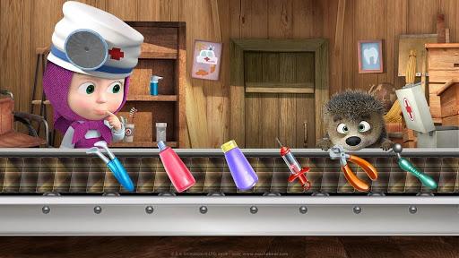 Masha and the Bear: Free Dentist Games for Kids  Screenshots 4
