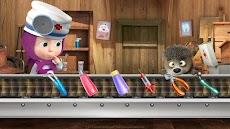 マーシャとくま: 歯科手術と歯医者ゲーム無料のおすすめ画像4