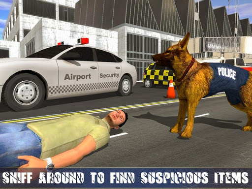 Police Dog Airport Crime Chase : Dog Games android2mod screenshots 3