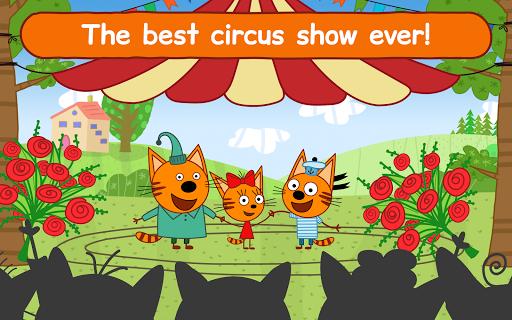 Kid-E-Cats Circus Games! Three Cats for Children  screenshots 9