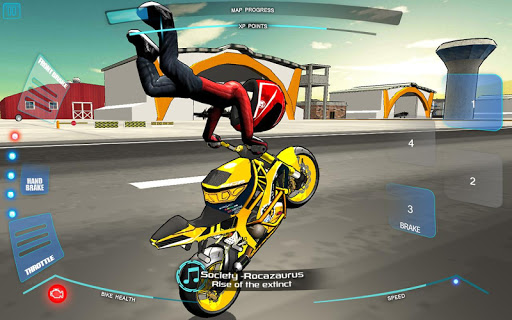 Télécharger Gratuit Stunt bike Freestyle apk mod screenshots 2