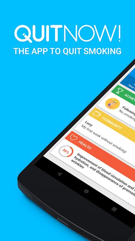 QuitNow! PRO - Stop smoking  poster 0