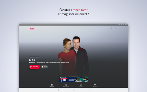 France Inter - radio, podcasts, actu 6.0.0 screenshots 13