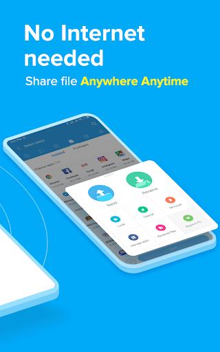 ShareMe  - #1 file sharing & data transfer app apktram screenshots 2