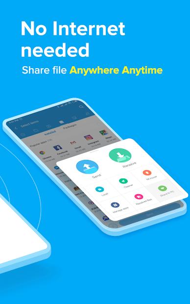 ShareMe - #1 file sharing & data transfer app screenshot 1