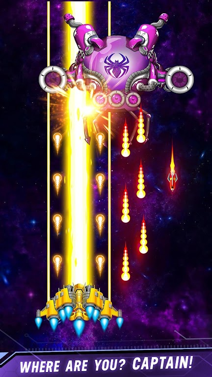 Space shooter - Galaxy attack - Galaxy shooter  poster 1