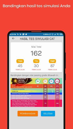 Simulasi CAT CPNS 2020  Screenshots 9