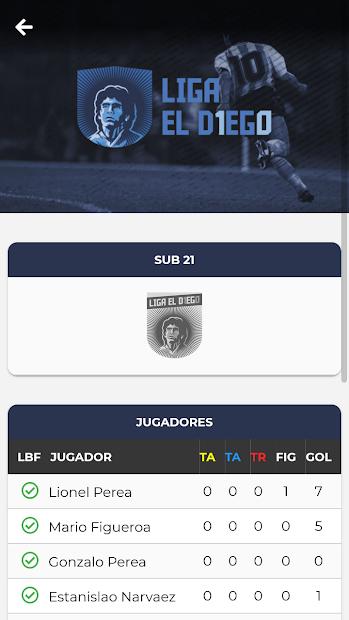 Liga el Diego screenshot 1