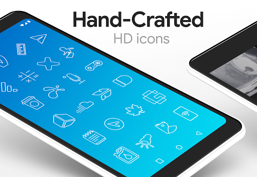 Lines - Icon Pack (Free Version) 3.2.8 Screenshots 8