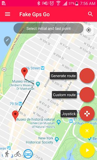 Fake GPS Go 0.5.3 Screenshots 1