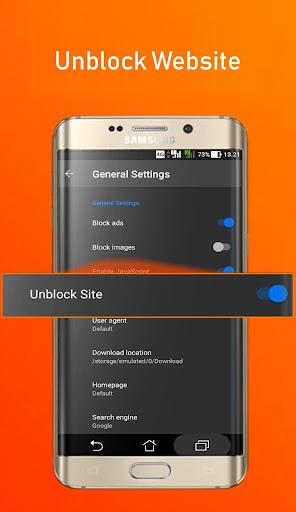 Image of Azka Anti Block Browser - Unblock without VPN 24.0 2