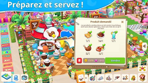 Télécharger Gratuit Mon petit paradis : gestion de station de vacances mod apk screenshots 5