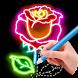 花を描くことを学ぶ – お絵かき & 色塗り - Androidアプリ