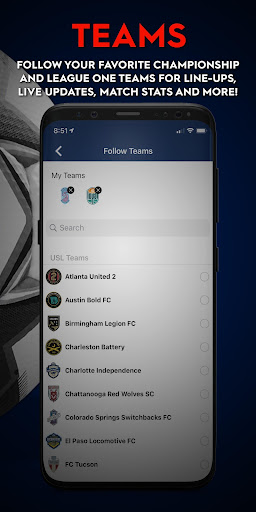 united soccer league screenshot 3