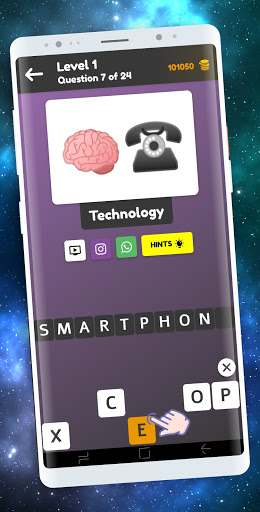 Quiz: Emoji Game, Guess The Emoji Puzzle apkpoly screenshots 2