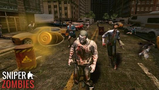 Sniper Zombies Offline Games 3D Hileli Apk Güncel 2021** 4