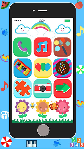 Baby Real Phone. Kids Game 2.1 Screenshots 6