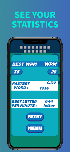 Challenger Typing Practice - Typing Speed Test Screenshots 5