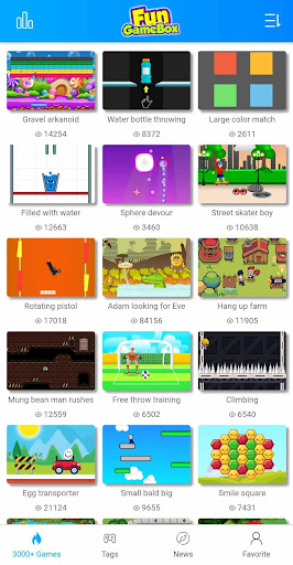 Fun GameBox 3000+ games in App  screenshots 1