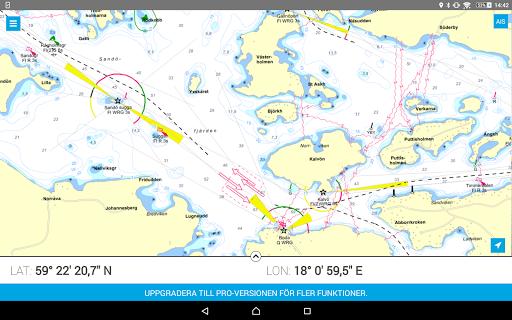 Eniro På sjön - Gratis sjökort  screenshots 8