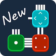 Combine it! - connected blocks of logic puzzle icon