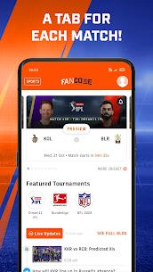 FanCode – App Download | Cricket Live, Watch Sports & IPL Scores 3