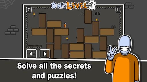 One Level 3: Stickman Jailbreak 1.8 Screenshots 10