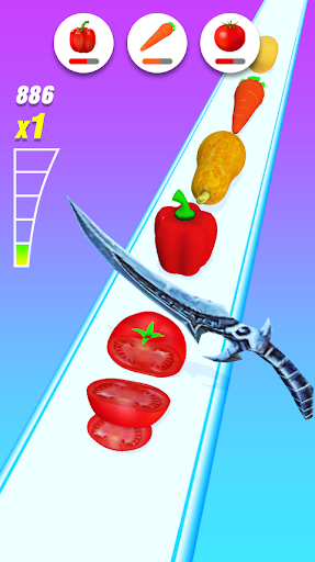 Food Slicer u2013 Slice Veggies, Fruits, Bread, Cakes 1.51 screenshots 4