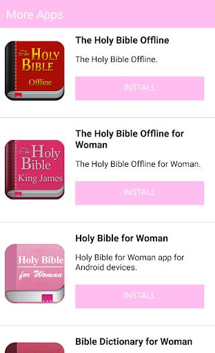 The Holy Bible for Woman screenshot 6