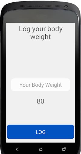 Body Weight Log apkdebit screenshots 2