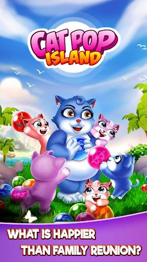 Cat Pop Island: Bubble Shooter Adventure screenshots 8