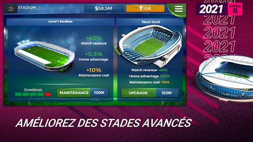 Pro 11 - Football Manager Game  APK MOD (Astuce) screenshots 2
