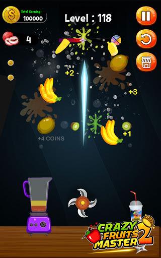 Crazy Juice Fruit Master:Fruit Slasher Ninja Games  screenshots 13